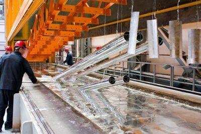 Труба оцинкованная водогазопроводная: процесс цинкования